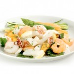 A delicious blend of seafood to enhance salads