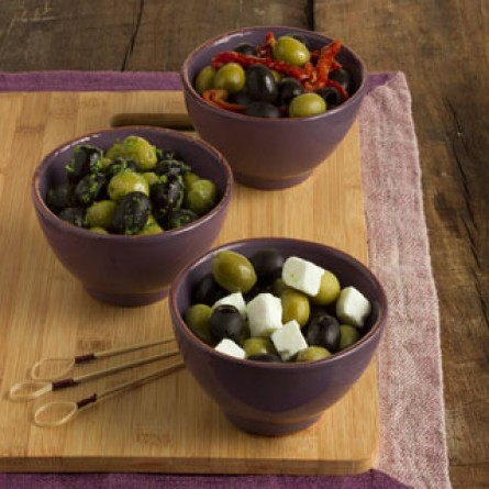 Le olive ricettate